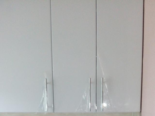 Кухня белый ультра