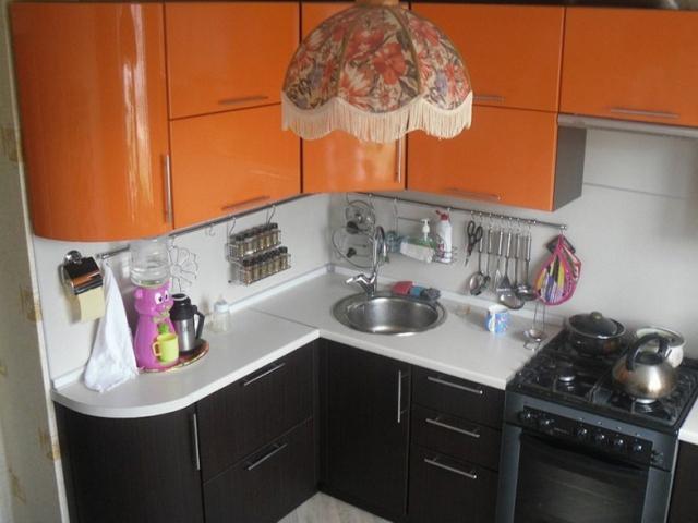 Кухня МДФ венге+глянец