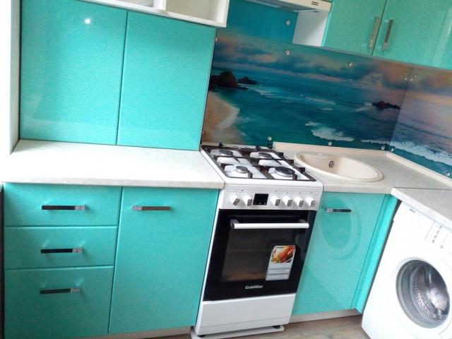 Кухня морская волна