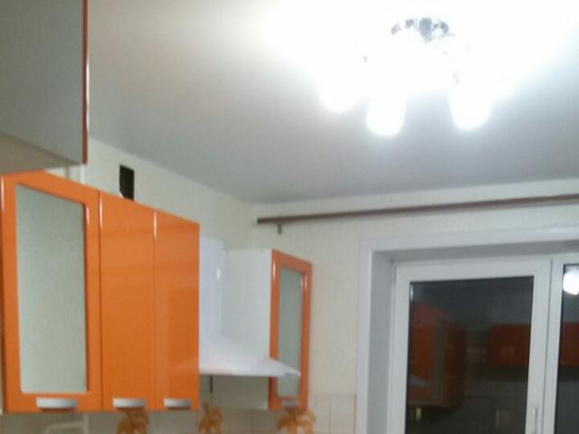 Кухня оранж глянец