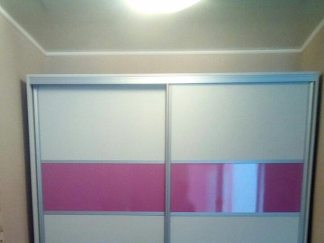 Белый+лиловый металлик