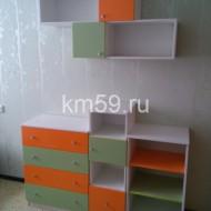 Стенка детская Манго/зеленый 14 930 рублей
