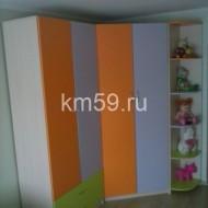 Шкафы в детскую комнату манго/ирис/лайм 35 650 рублей